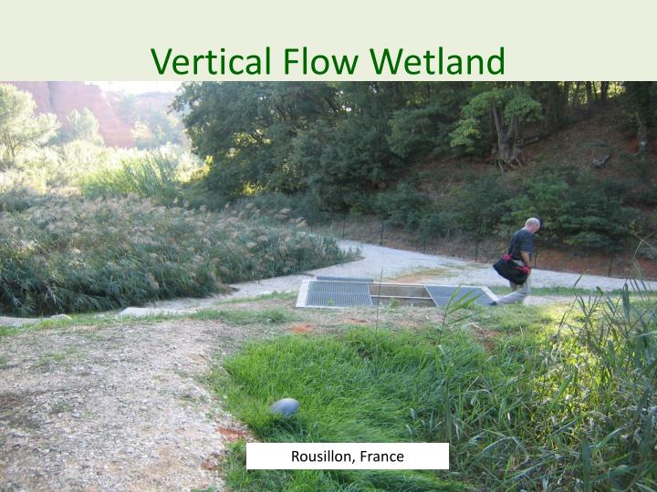Vertical Flow Wetland
