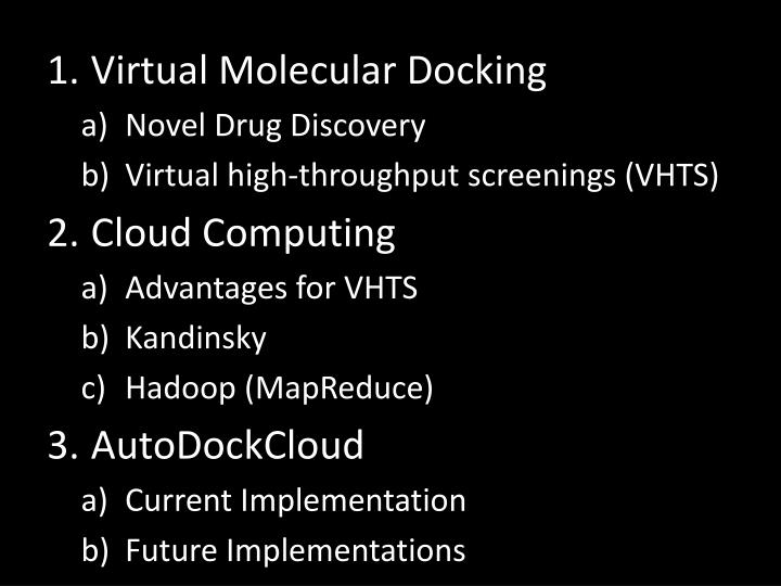 Virtual Molecular Docking