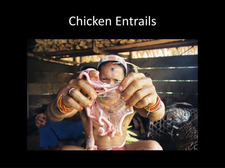 Chicken Entrails