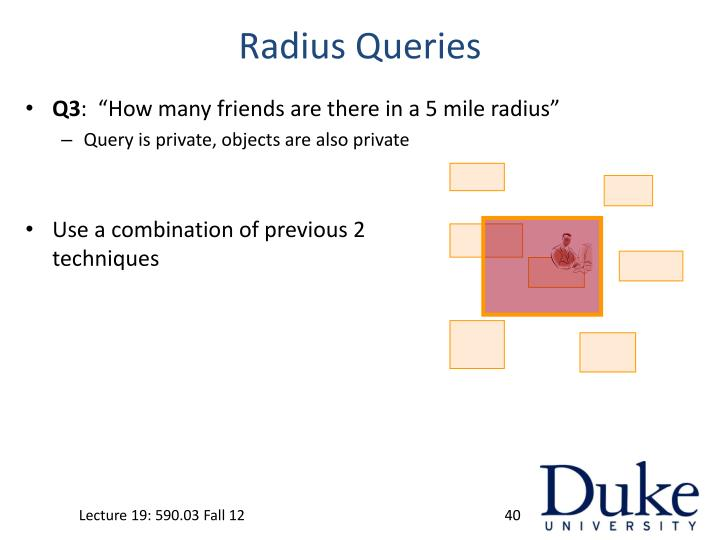 Radius Queries