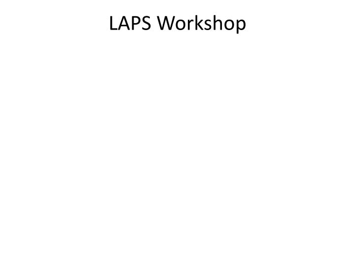 LAPS Workshop