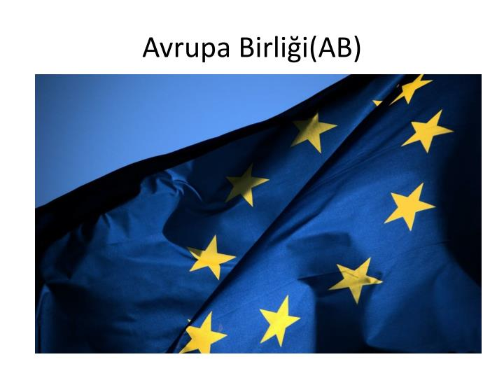 Avrupa Birliği(AB)
