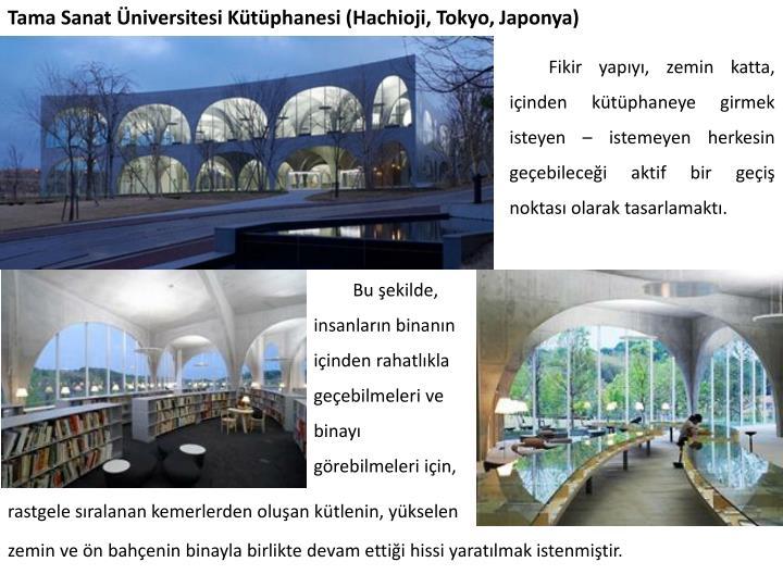 Tama Sanat Üniversitesi Kütüphanesi (