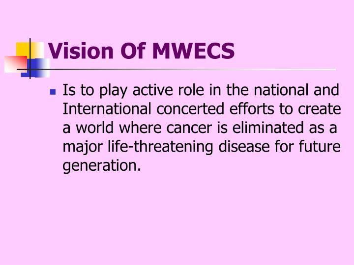 Vision Of MWECS