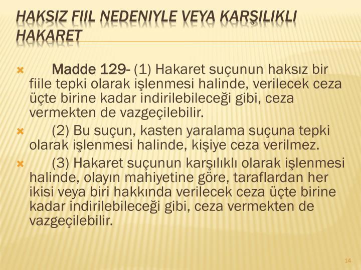 Madde 129-