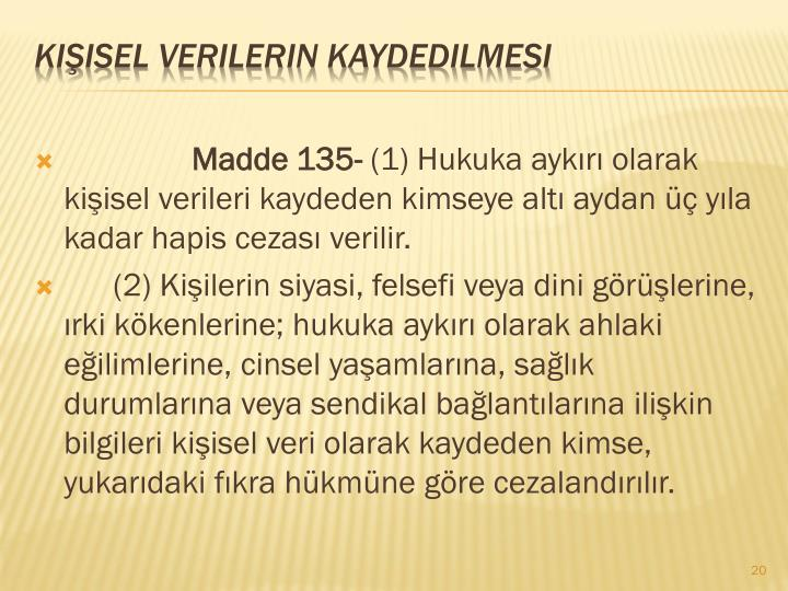 Madde 135-