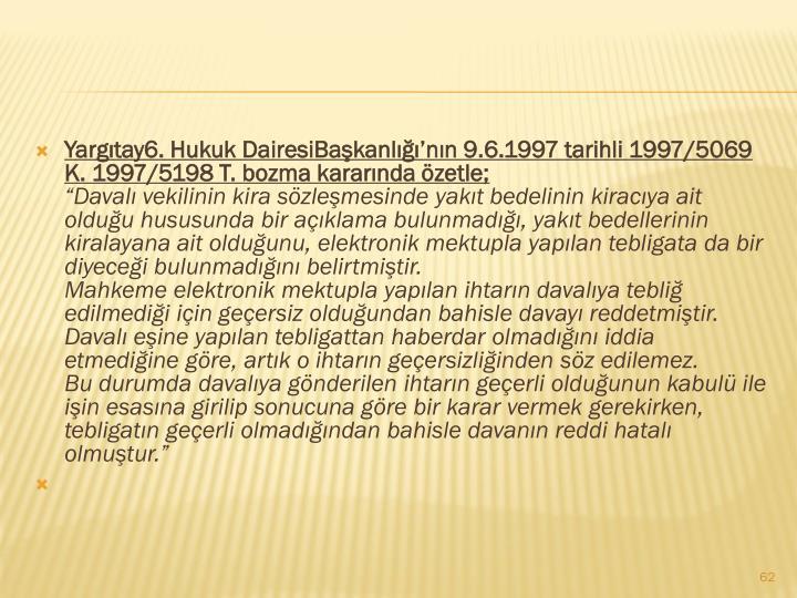 Yargıtay6. Hukuk