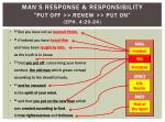 man s response responsibility put off renew put on eph 4 20 24