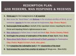 redemption plan god redeems man responds receives