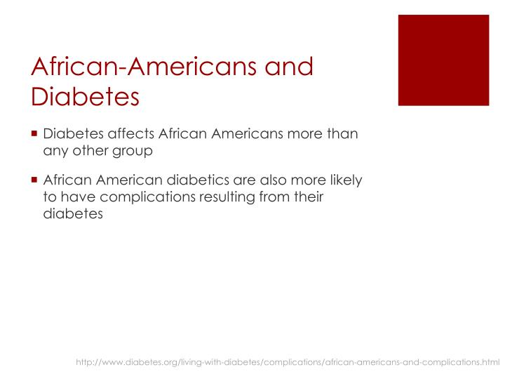 African-Americans and Diabetes