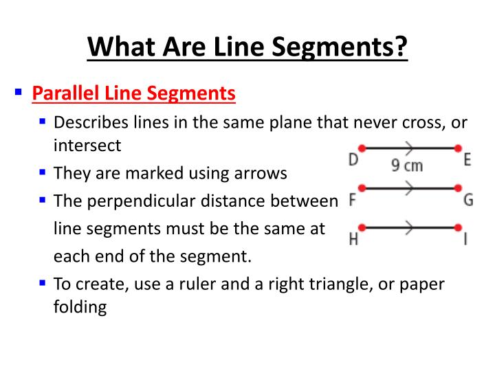 What Are Line Segments?