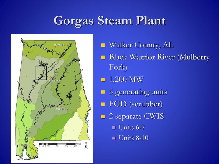 Gorgas Steam Plant