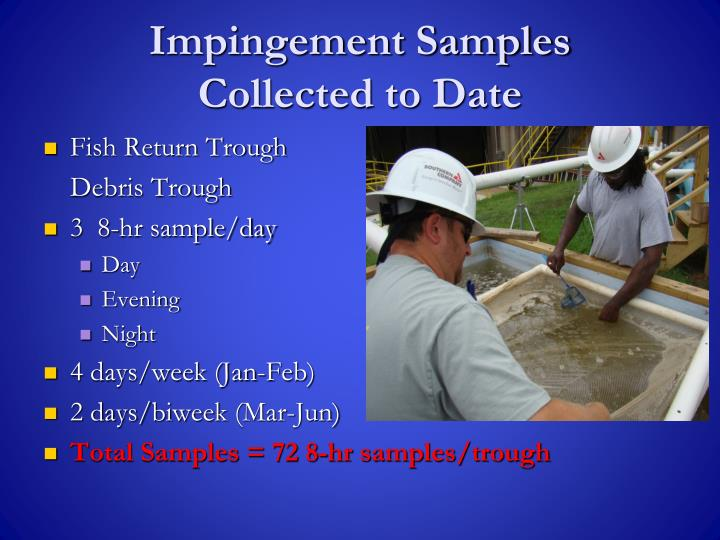 Impingement Samples