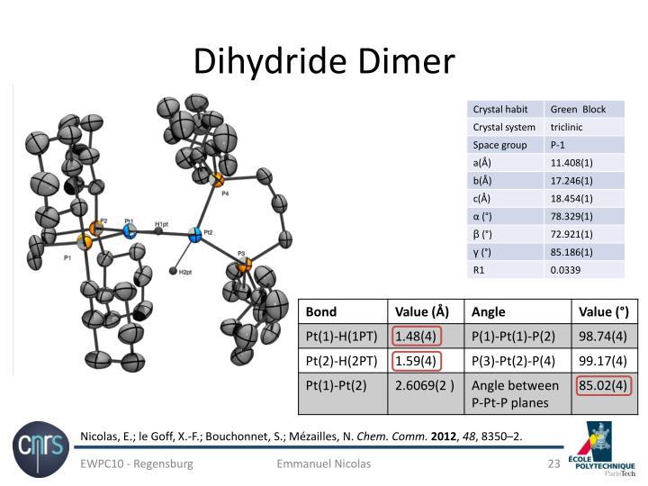 Dihydride Dimer