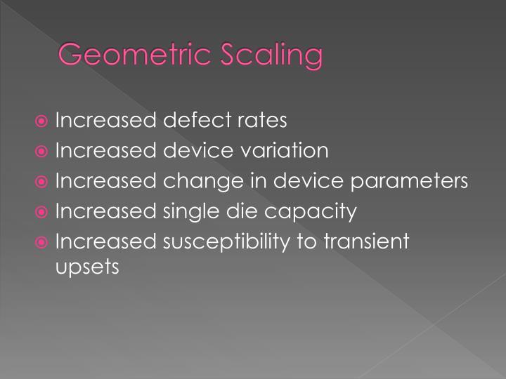 Geometric Scaling