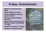 friday grantchester