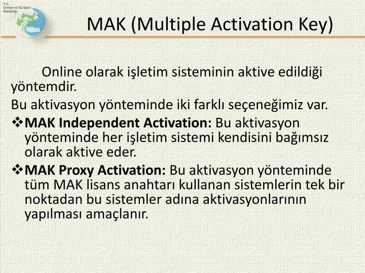 MAK (