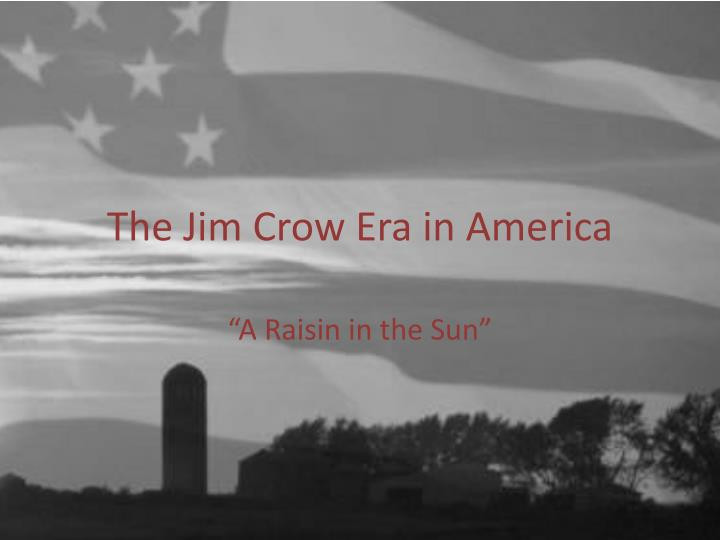 The jim crow era in america