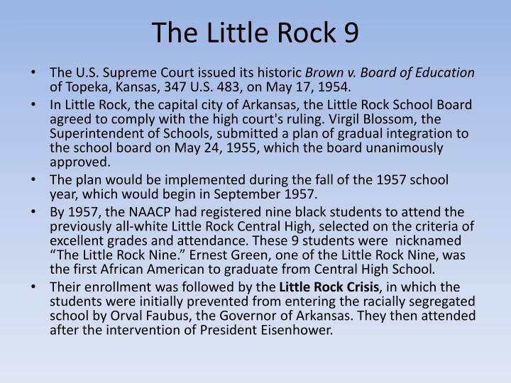 The Little Rock 9