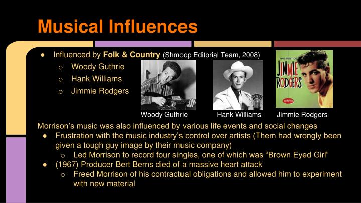 Musical Influences