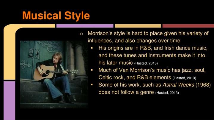 Musical Style