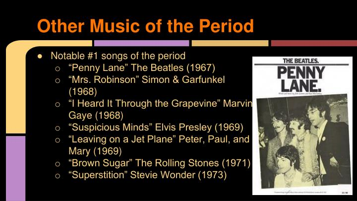 Other Music of the Period