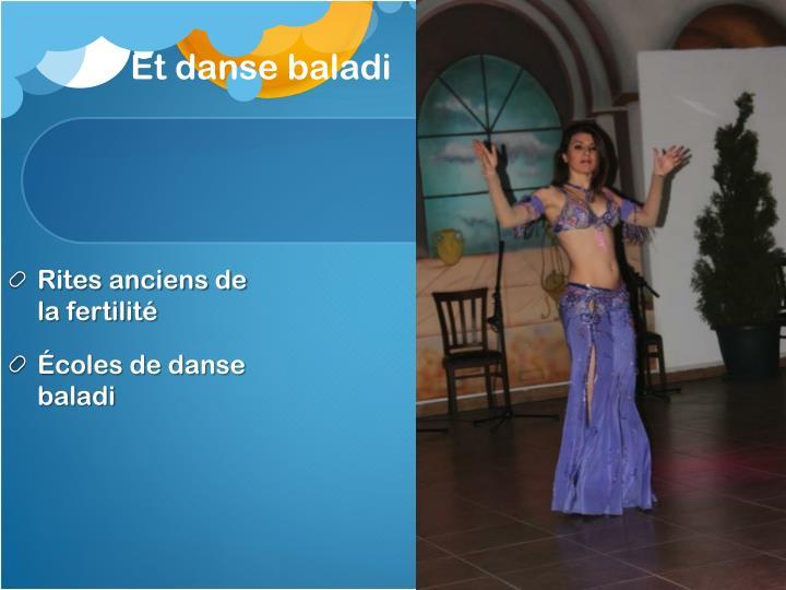 Et danse