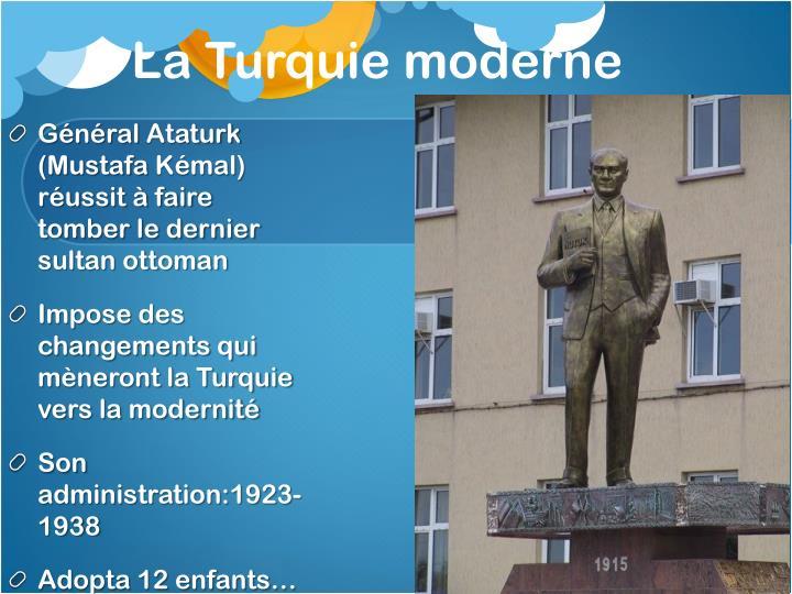 La Turquie moderne