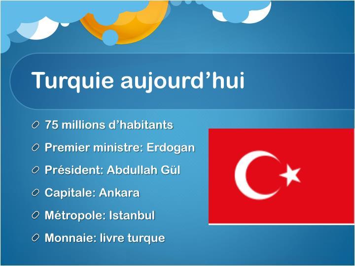 Turquie aujourd'hui