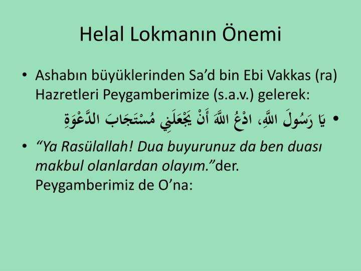 Helal Lokmann nemi