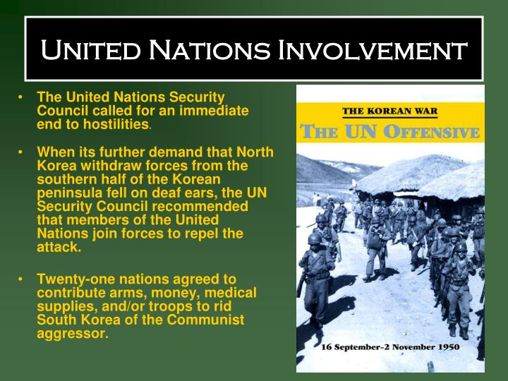 United Nations Involvement