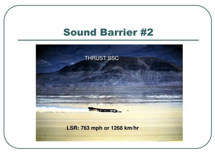 Sound Barrier #2