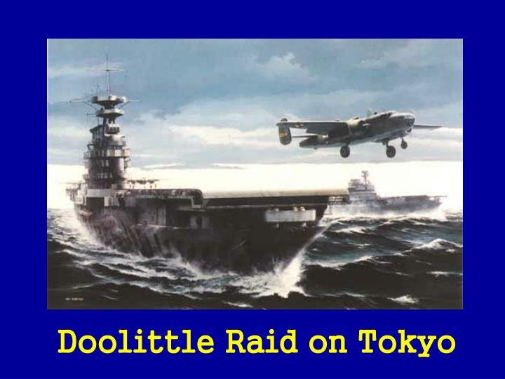 Doolittle Raid on Tokyo