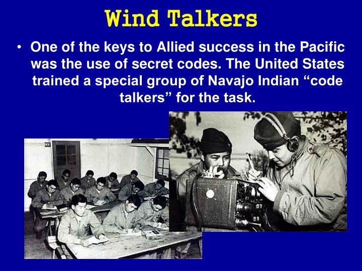 Wind Talkers