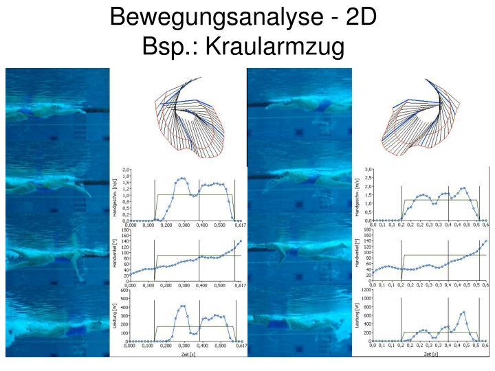 Bewegungsanalyse - 2D