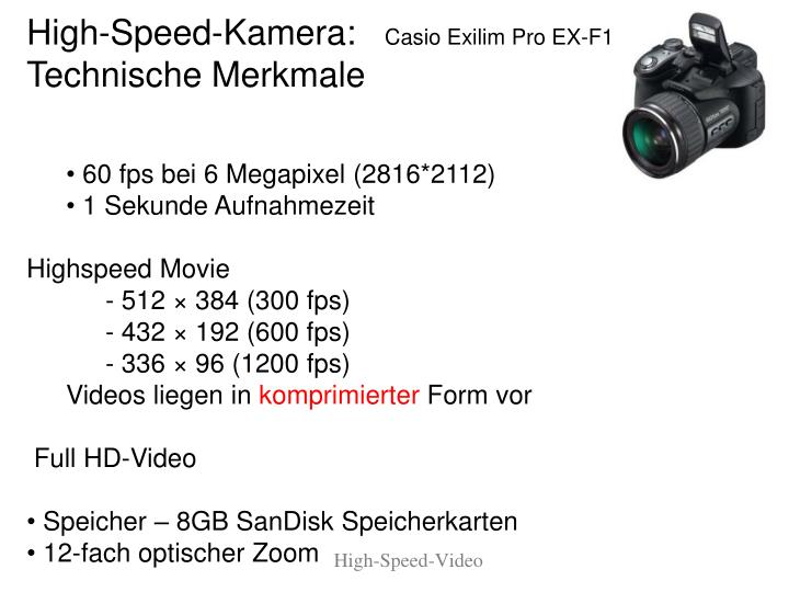 High speed video1