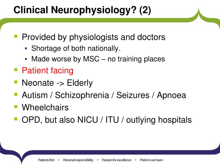 Clinical neurophysiology 2