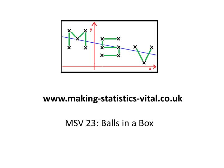 Msv 23 balls in a box