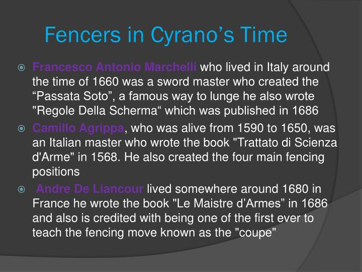 Fencers in