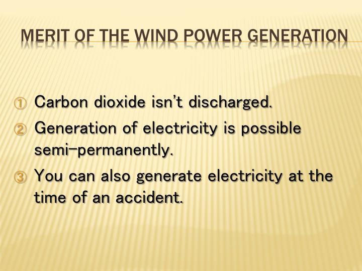 Carbon dioxide isn't