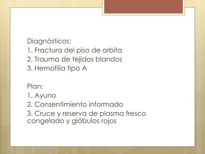 Diagnósticos: