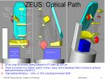 zeus optical path