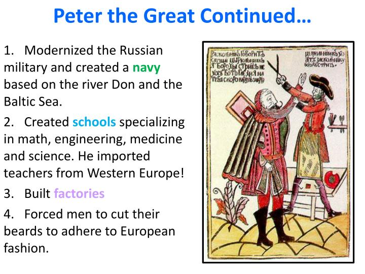 essay question peter the great So peter is a model for what ender shouldn't be because peter lacks ender's  great ability to care about the feelings of others that might make peter a fine.