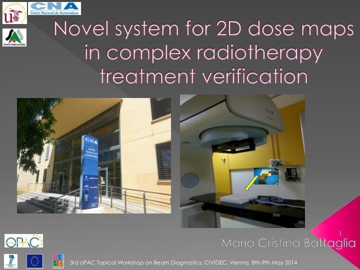 Novel system for 2d dose map s in complex radiotherapy treatment verification