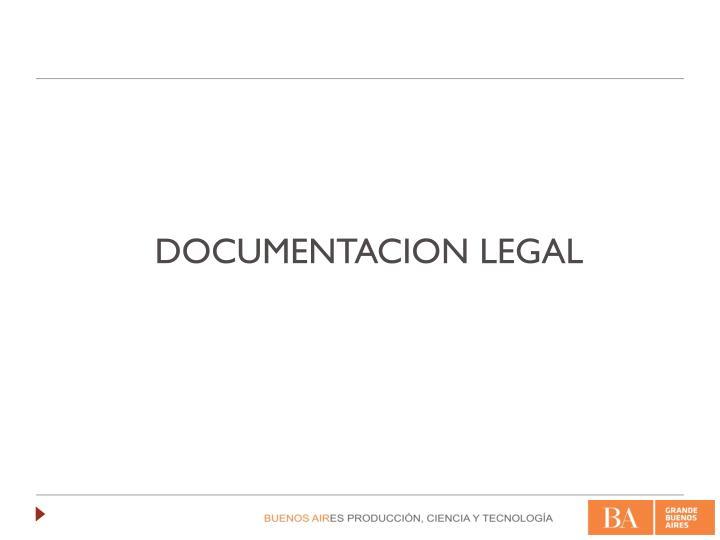 DOCUMENTACION LEGAL