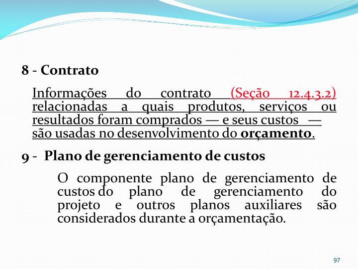 8 - Contrato