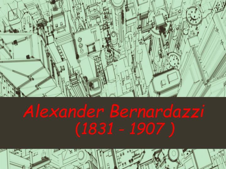 Alexander Bernardazzi