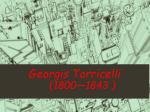 georgis torricelli 1800 1843