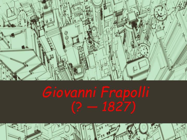 Giovanni Frapolli