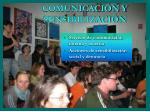 comunicaci n y sensibilizaci n